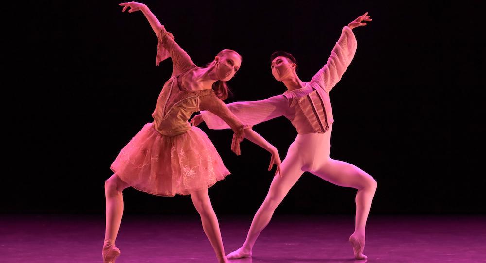 Durante Verzola's 'Ballet De Cour'. Photo by Matt de la Peña.