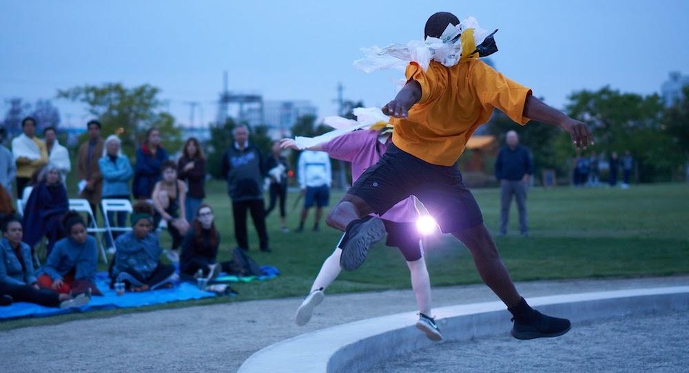 Heidi Duckler Dance's 'Ebb & Flow'. Photo by Sean Deckert.
