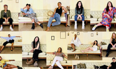 Some of the artists of experiential gallery show HomeTraining.