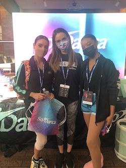 Eden Paulsgrove, Casey Franklin and Alima Bordley. Photo courtesy of Bordley.