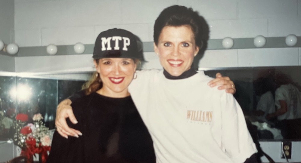 Deb McWaters and Ann Reinking. Photo courtesy of McWaters.