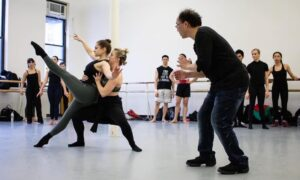 Rick Tjia teaching at Steps on Broadway. Photo courtesy of Steps.