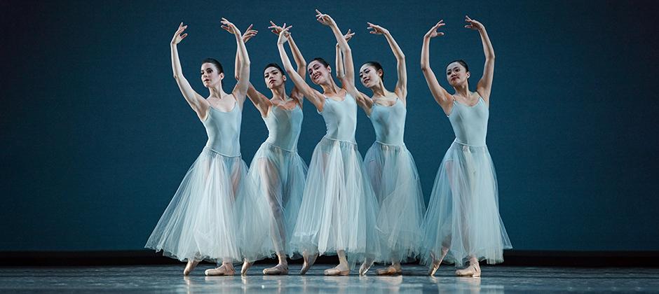 San Francisco Ballet in George Balanchine's 'Serenade'. Photo by Erik Tomasson.