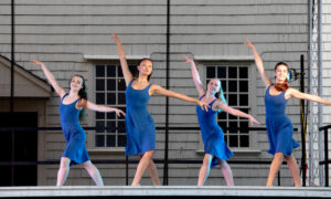 Island Moving Company's Summer Intensive. Photo by Kim Fuller.