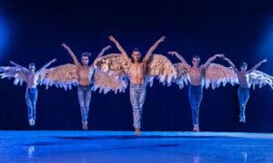 The Joffrey Ballet in Chanel DaSilva's 'Swing Low'. Photo by Todd Rosenberg.