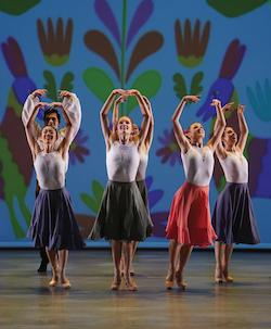 American Repertory Ballet in David Fernandez's 'Mexican Music'. Photo by Eduardo Patino.