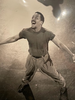 Gregory Hines. Photo courtesy of Debra McWaters.