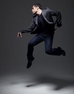 Joshua Bergasse. Photo by Lee Cherry.