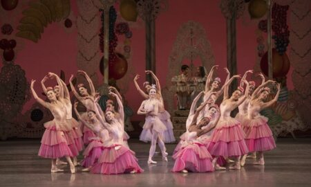 Megan Fairchild and New York City Ballet in 'George Balanchine's The Nutcracker'. Photo by Erin Baiano.