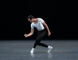 NYCB Soloist Sebastian Villarini-Velez in George Balanchine's 'The Four Temperaments'. Photo by Erin Baiano.