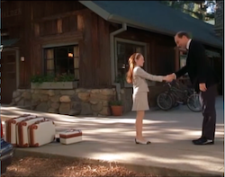 'The Parent Trap' handshake, choreography by Jeanefer Jean-Charles and direction by Nancy Meyers.